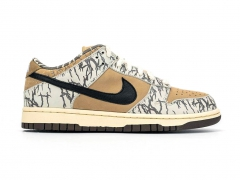 Nike SB Dunk x Travis Scott White/Beige