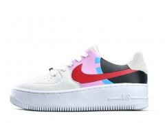 Nike Air Force 1 Low LX White/Black/Pink/Red