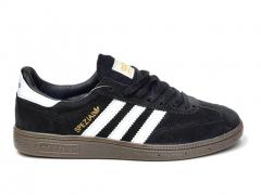 Adidas Spezial Black Suede/Gum