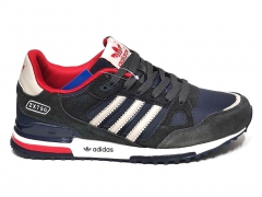 Adidas ZX 750 Dark Grey/Navy/White/Red
