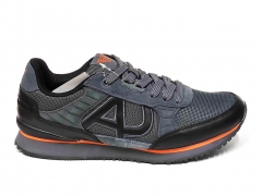 Armani Jeans Sneakers Grey/Black/Orange