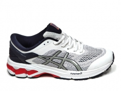 Asics GEL KAYANO 26 White/Navy/Red