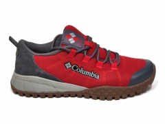 Columbia Men's Shoe Red/Grey/Gum