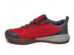 Columbia Men's Shoe Red/Grey/Gum