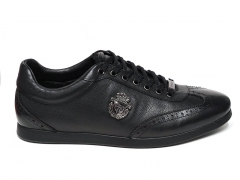 Ferazzi Sneaker Snake Leather Black FRZ019