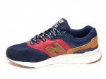 New Balance 997H Navy/Red/Brown