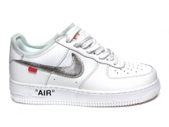 Nike Air Force 1 Low x Off-White White/Silver