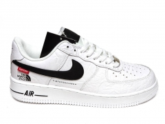 Nike Air Force 1 x Supreme The North Face White