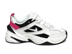 Nike M2k Tekno White/Black/Pink