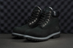Timberland 6-INCH Black/Grey (натур. мех)