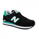 New Balance 574 Black/Green