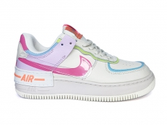 Nike Air Force 1 Low Shadow White/Pink/Purple