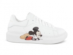 Alexander McQueen Sneaker White/Mickey Mouse