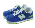 New Balance 574 Blue/Green/Old