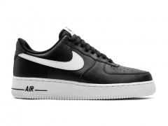 Nike Air Force 1 Low Black/White Sole