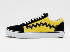 Vans Old Skool x Peanuts Black/Yellow