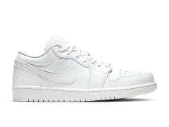 Air Jordan 1 Retro Low All White
