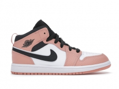 Air Jordan 1 Retro Mid Quartz Pink