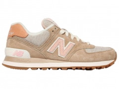 New Balance 574 Beige/Pink/Hit