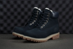 Timberland 6-INCH Dark/Blue/High (натур. мех)