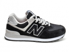 New Balance 574 Black/White/Grey