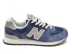 New Balance 574 Blue/Grey/Beige