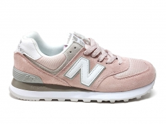 New Balance 574 Pink/Grey/White