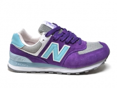 New Balance 574 Purple/Blue
