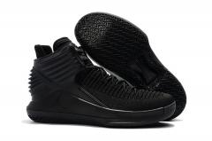 Air Jordan XXXII (32) Triple Black
