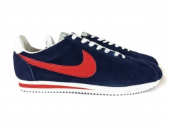 Nike Cortez blue/red suede