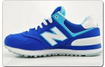 New Balance 574 Blue/White/Wo