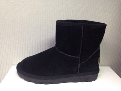 Sx short Uggs black (натур. мех)