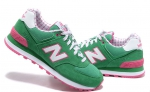 New Balance 574 Green/Pink/Sale