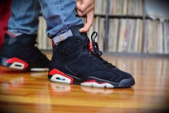 Air Jordan Retro 6 Black Infrared