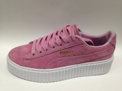 Puma Creepers by Rihanna pink/white