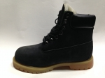 Timberland 6-INCH Black/Brown (натур. мех)