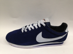 Nike Cortez dark blue (с мехом)