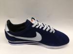 Nike Cortez dark blue (с мехом)