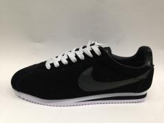 Nike Cortez black (с мехом)
