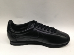 Nike Cortez black leather (с мехом)