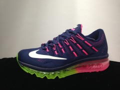 Nike Air Max 2016 dark blue/pink
