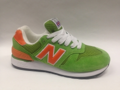 New Balance 670 Green/Orange