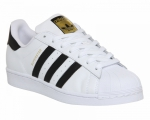 Adidas Superstar original white/black/gold