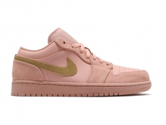 Air Jordan 1 Retro Low Coral/Gold
