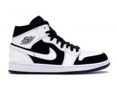 Air Jordan 1 Retro Mid White/Black