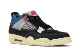 Air Jordan 4 Retro x Union Off Noir Black