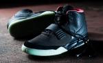 Nike Air Yeezy 2 black/green