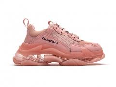 Balenciaga Triple S Clear Sole Pink