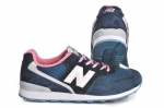 New Balance 996 Dark/Blue/Pink