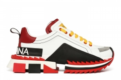 Dolce & Gabbana Super King Bianco Rosso